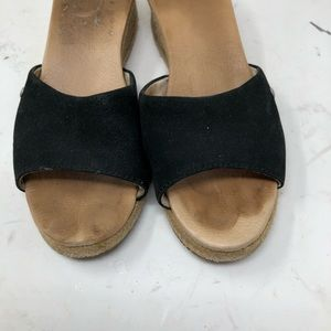UGG Shoes - UGG wedge espadrille slip on sandals 8